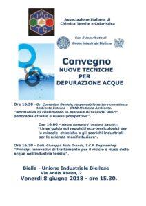 AICTC - Locandina Convegno ACQUA